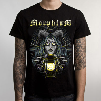 MorphiuM t-shirt blue